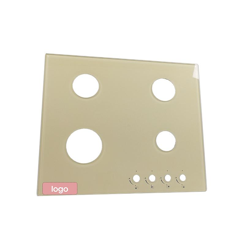Stove surface glass sample 5